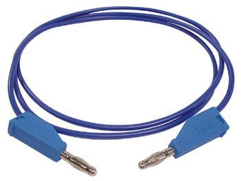 TEST LEADS MOULDED BANANA PLUG Blue
