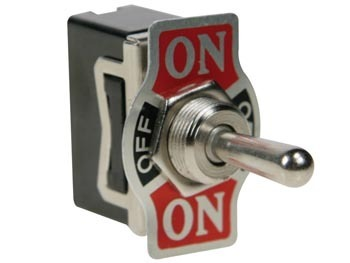 TOGGLE SWITCH SPDT 1P (ON)-OFF-(ON)