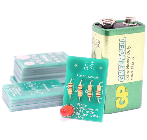 Learning to solder LED kit, Pack of 25