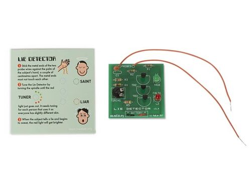 MADLAB ELECTRONIC KIT - LIE DETECTOR