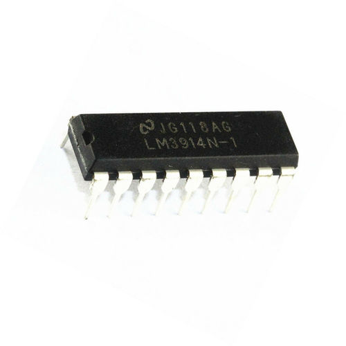 LM3914N DRIVER DISPLAY DIP-18