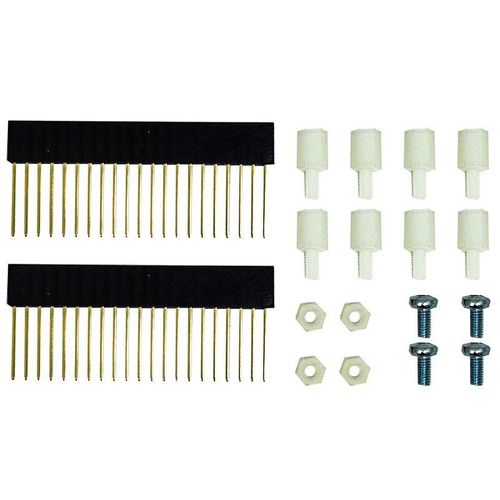 21 Way Stackable Pin Header & Fixings